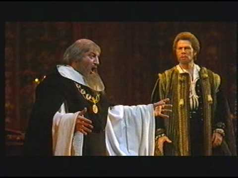 Samuel Ramey. Alexander Anisimov.  DON CARLO. VERDI. Il grand' Inquisitor.