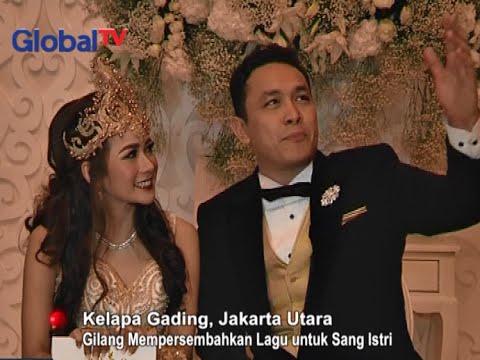 Lagu Gilang Dirga Untuk Sang Istri  Di Hari Pernikahannya - Obsesi 19/09
