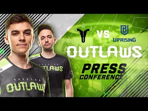 Houston Outlaws Press Conference Stage 3 Week 1 (Boston Uprising)