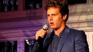 "Jonathan Groff Singing ""Moving Too Fast"" from The Last 5 Years Live at The Cabaret"