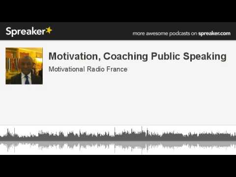 Public speaking text about motivation