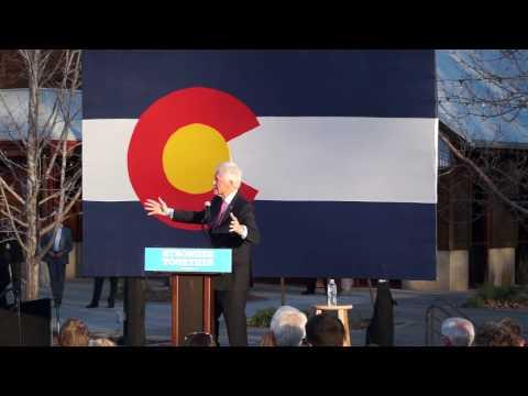 President Bill Clinton on student loans