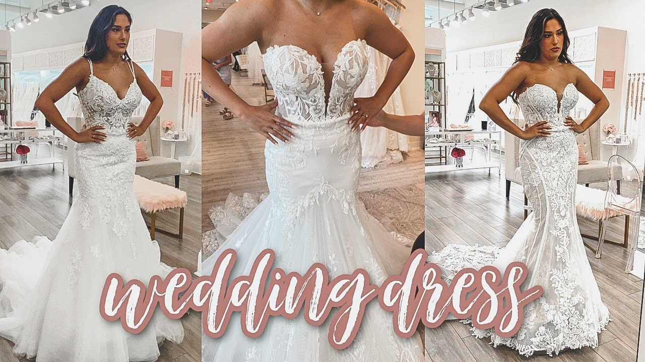 WEDDING DRESS SHOPPING WEDDING SERIES EP. 20   Did I say yes to the dress