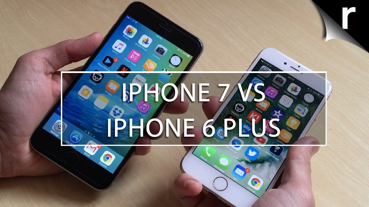 outlet store 2c8eb 07b5b iPhone 7 vs iPhone 6 Plus: Should I upgrade?