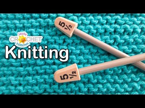 Knitting for Beginners - Garter Stitch Washcloth Pattern