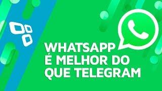 6 coisas em que o WhatsApp é melhor que o Telegram - TecMundo