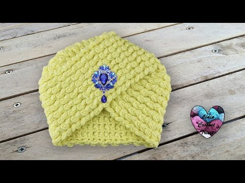 Turban Crochet Lidia Crochet Tricot Subtitulo Español