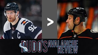 Avalanche Review Game 41: Landeskog shows Getzlaf what a Captain looks like
