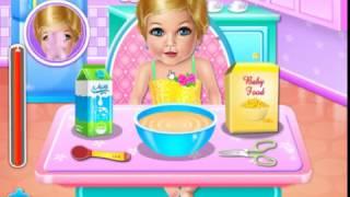 Мультик игра Дневной уход за малышкой (Baby Aliza's Daycare)
