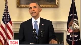 Смотреть видео Президент США підписав закон про підтримку України онлайн