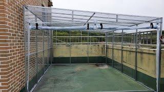 학교 옥상에 자전거 보관소 만들기 / 고프로9 . 브이…