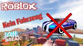 Jailbreak No Vehicles Challenge | Roblox