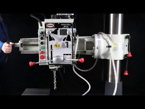 Радиально-сверлильный станок PROMA RV-32