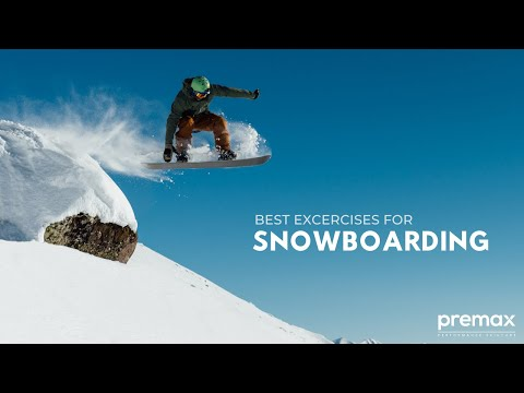 Best Exercises for Snowboarding