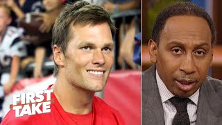 I can't imagine Tom Brady leaving the Patriots – Stephen A. | First Take