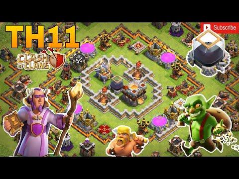 Th11 farming base 2018/coc th11 dark elixir protection base 2018/trophy base/clash of clan