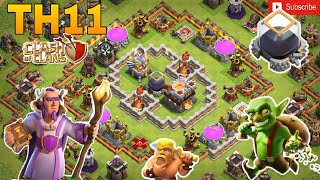 Th11 farming base 2018/coc th11 dark elixir protection base 2018/trophy base/clash of clan