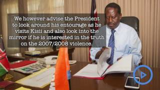 Raila to Uhuru on post election violence claims 2007/8