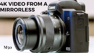 CANON EOS M50 EF-M 15-45mm | Unboxing | Review