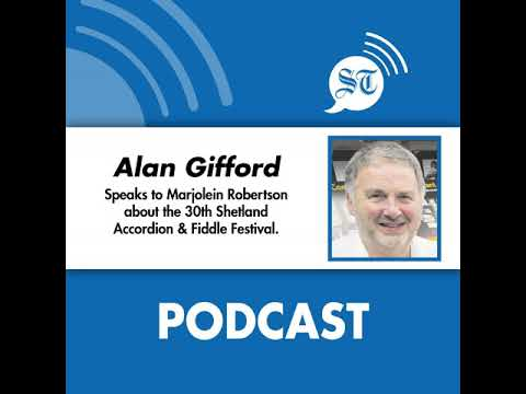 Alan Gifford on the 30th Accordion and Fiddle Festival