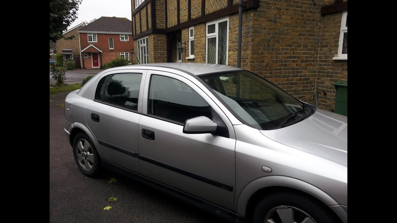 & Replacing wing mirror on Astra G Mk4 - YouTube