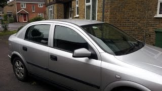 Replacing wing mirror on Astra G Mk4