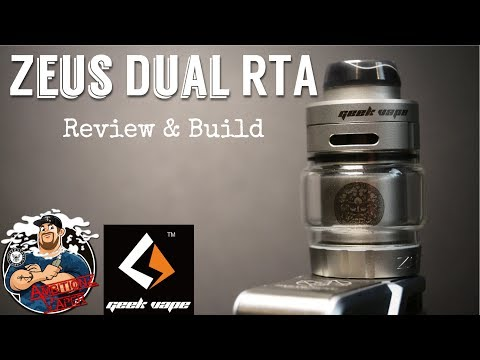 Geek Vape Zeus Dual RTA Review & Build | Bubble Glass!?!?