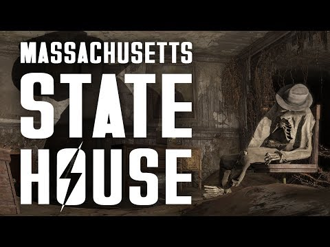 What's Lurking Beneath the Massachusetts State House? - Fallout 4 Lore
