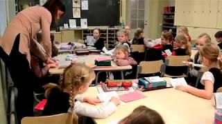 Урок англійської в естонській початковій школі. Просто диво!