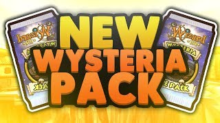 NEW WYSTERIA LORE PACK OPENING! (Wizard101) 60,000 Crowns!