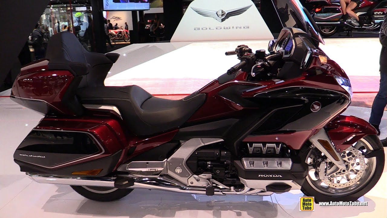 2018 Honda Goldwing - Walkaround - 2017 EICMA Milan ...
