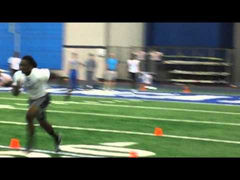 Danny Trevathan 40-Yard Dash (Attempt 1)