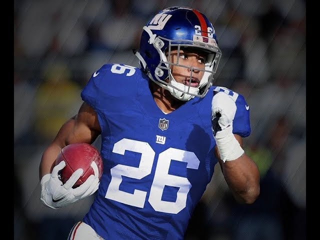 brand new d761c 69378 Giants Fans Clamor For Saquon Barkley, Show Love For Penn ...
