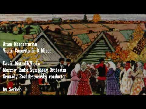 Khachaturian, Violin Concerto, David Oistrakh