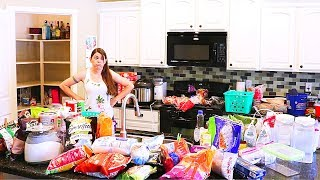 PANTRY AND FRIDGE ORGANIZATION AND CLEAN OUT // CLEANING MOM