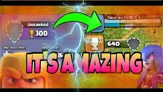 Wow😰 +340 COC Trophies without Playing | How to get Unleagued in clash of clans| COC No league!
