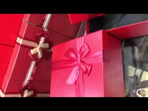 Kare model kırmızı renk süper hediye...