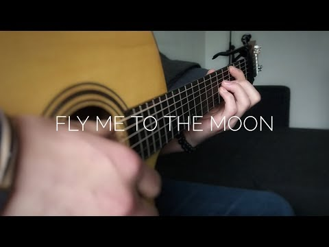 Frank Sinatra - Fly Me To The Moon Fingerstyle Guitar Cover