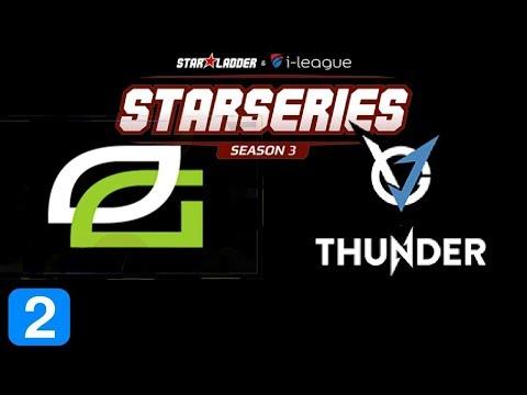 OpTic Gaming vs VGJ Thunder Game 2 Grand Final StarLadder 5 Highlights Dota 2