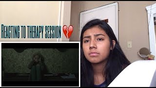 REACTING TO THERAPY SESSION BY NF