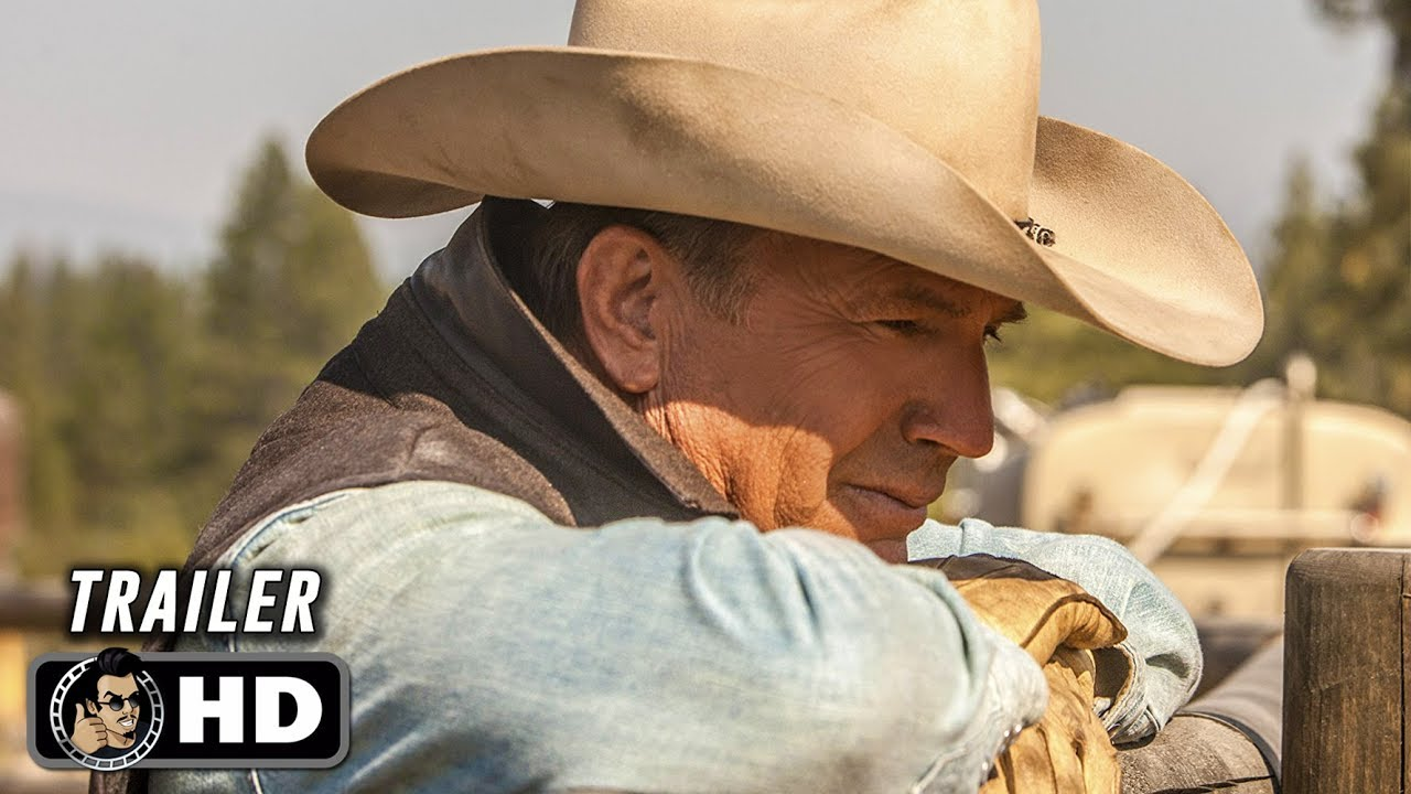 YELLOWSTONE Season 2 Official First Look Trailer (HD) Kevin Costner