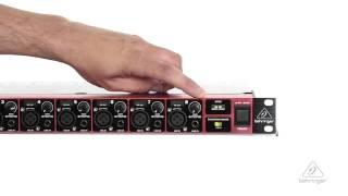 ULTRAGAIN DIGITAL ADA8200 ADAT Mic Preamp / Interface