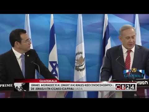 Guatemala Reconoce A Jerusalén Como Capital De Israel