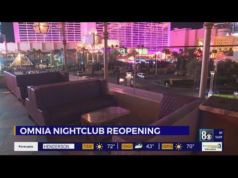 Nightlife Comeback: Caesars' OMNIA Nightclub reopens this weekend
