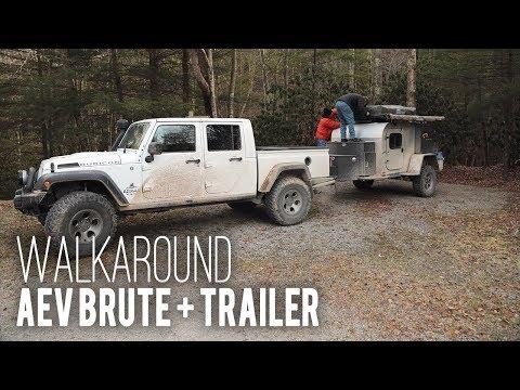 WE GUIDE: AEV Brute and Trailer. Walkaround.