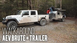 Built 4 Adventure - Walkaround: AEV Brute and Trailer