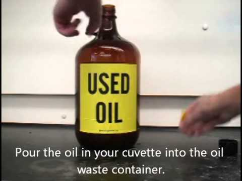 How to Dispose of Oil Waste