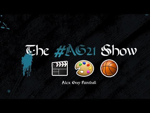 Watch the first AG21 Paintball Show with Alex Gray and Ryan Greenspan