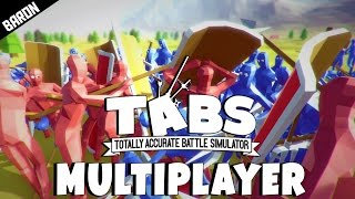 Totally Accurate Battle Simulator Multiplayer Gameplay!