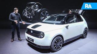 O Honda 100% elétrico. Honda E Prototype